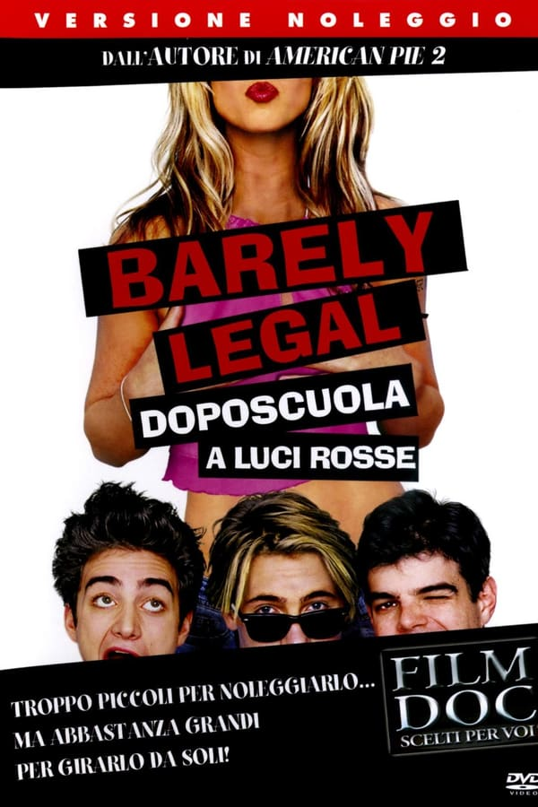 Barely Legal - Doposcuola a luci rosse